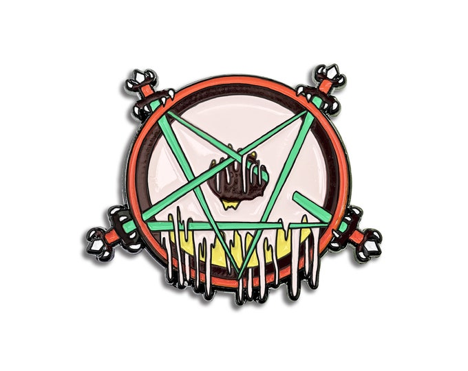 Vegan Donut Slayer Pin