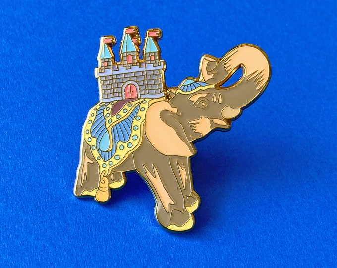 Elephant Castle Pin