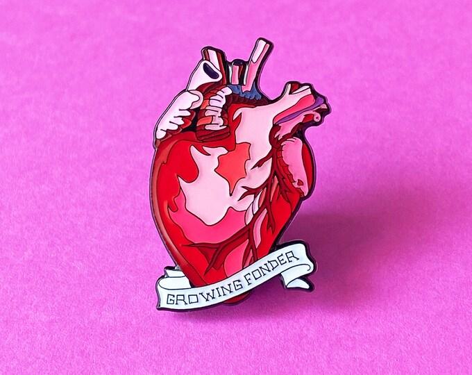 Fond Heart Pin