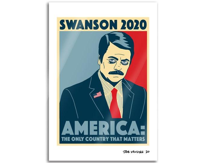 Swanson 2020 19x13 Print
