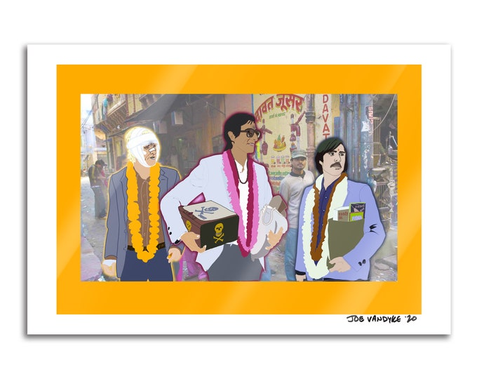 Darjeeling Limited 13x19 Print