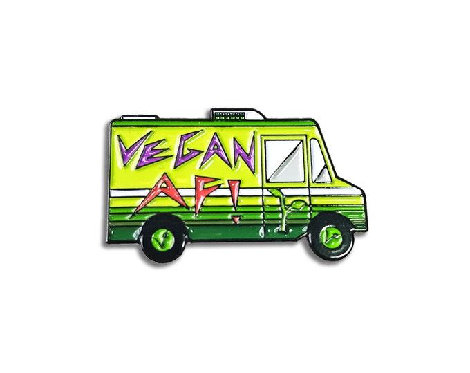 Vegan Food Truck Pin