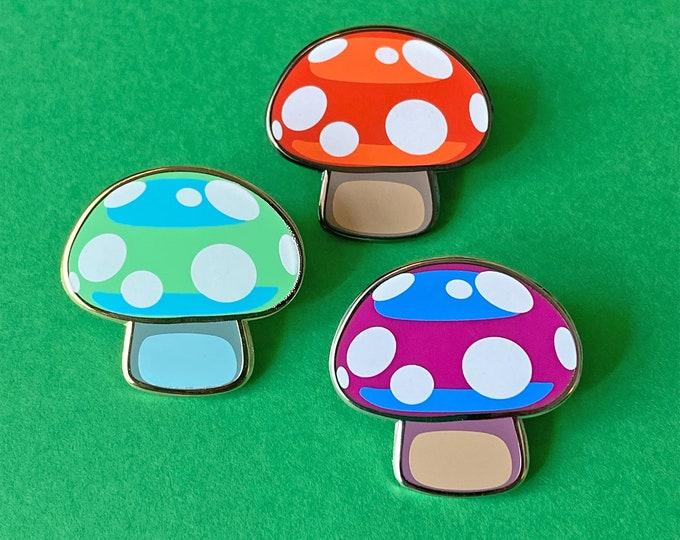 Fun Fungi 3 Pin Set