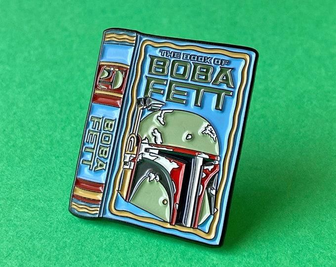 Boba Book Pin