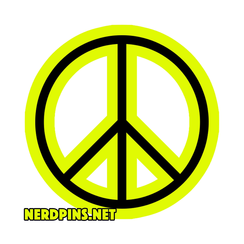 Peace Sign Emoji Pin