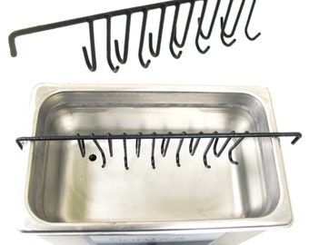 8 HOOK JEWELLERY ULTRASONIC BAR CLEANING RACK STAND TOOL RINGS by Jewellers Tools