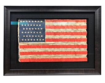 cd79f2e0 Vintage 44 Star Flag - American Flag Pre Spanish American War