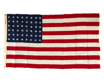 Vintage 48 Star Flag - Everwear Bunting Fast Colors