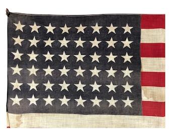 48 Star Flag, Antique American Flag
