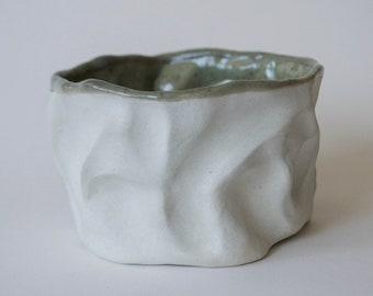 Small Hand Built Ceramic Bowl