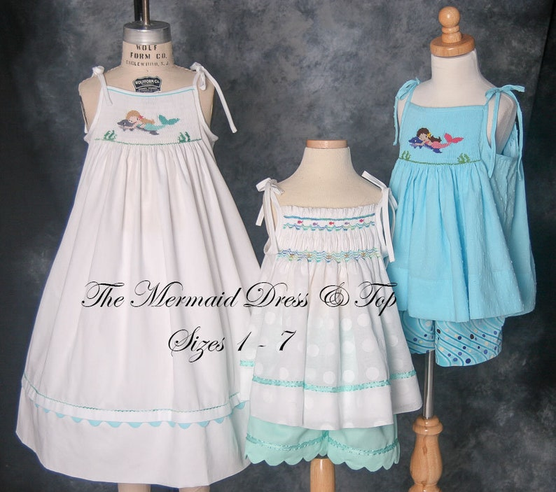 The Mermaid Dress & Top Pattern sizes 1  7 image 0