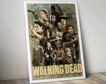 The Walking Dead Poster Poster Print Wall Decor