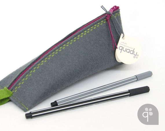 Quadu Case Elf – pencil from wool felt