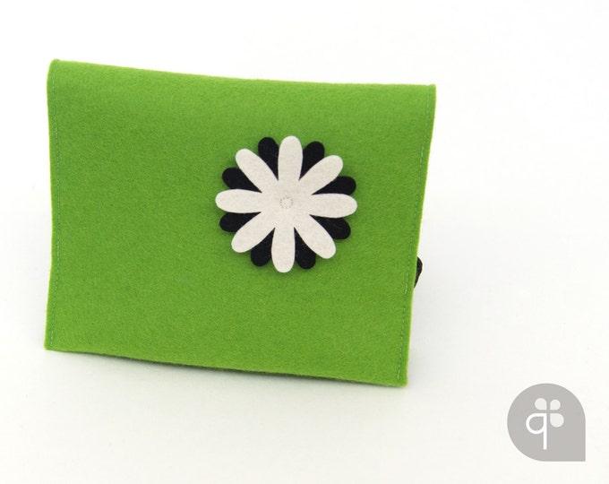 quadu Festplattentasche – Hülle Elektronik – Tasche Navigationsgerät – grün