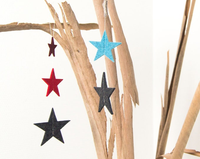 quadu star garland 2-set, Christmas decoration