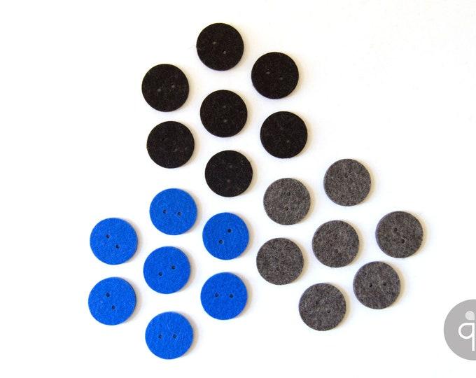 quadu 7 felt buttons