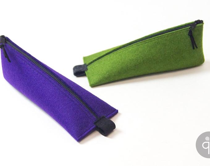 Quadu Case Elf – Feather pencil/pencil from wool felt