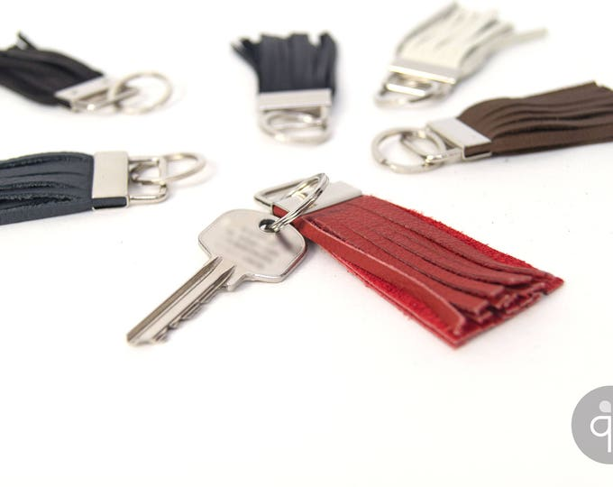 quadu upcycling tassel for keys