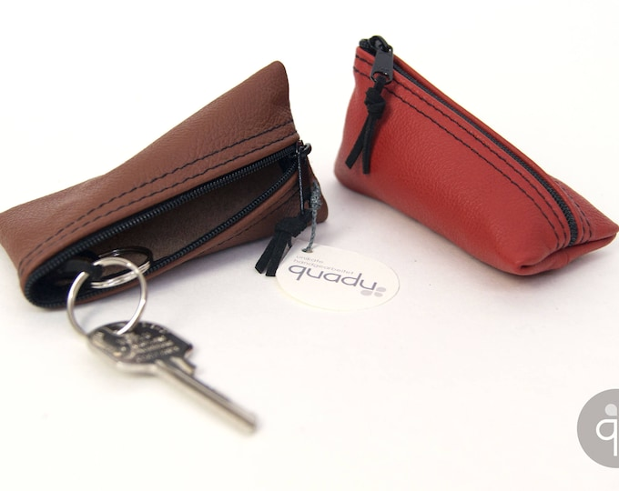 quadu upcycling leather - key case/key case