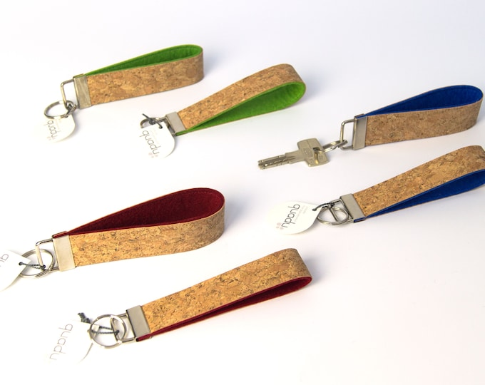 quadu lanyard cork - 30 mm wide or 25 mm wide