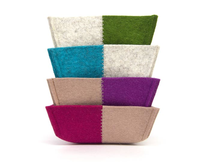 quadu felt bowl - mini