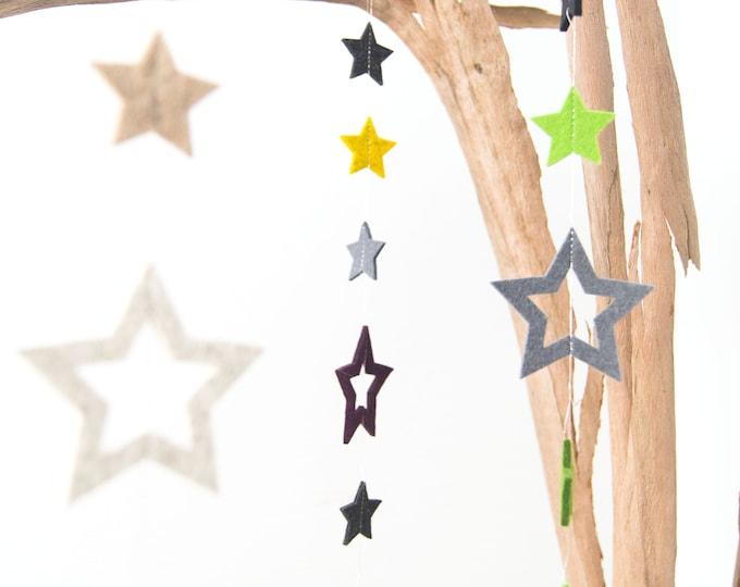 quadu Sternen-Girlande Weihnachtsdekoration