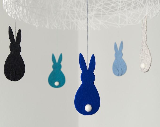 quadu Osterhasen 3er Set - Dekoration - Anhänger - 14 Farben