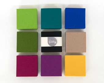 Quadu felt Coaster 4-set