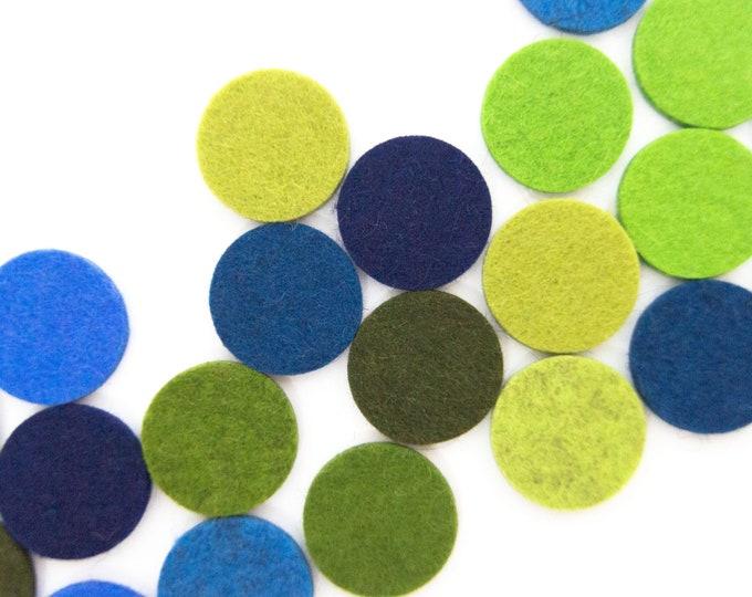 quadu 25 colorful circles - 26 mm