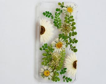 pressed flower phone case Iphone case dried flower Iphone 6s case floral case samsung galaxy s8 case samsung galaxy s5 samsung s3 case S9