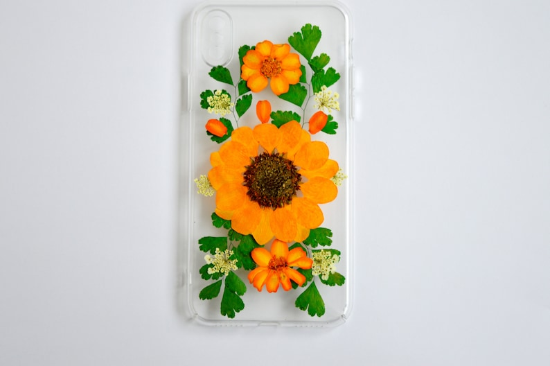 new product cc475 2b0fe Pressed flower iphone XR case Clear resin phone wer pcases Real flone cases  floral Phone hocases Samsung Galaxy iPhone 6 Iphone 7case 6 plus