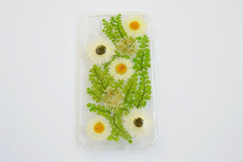 sale retailer 439e4 a5a07 Iphone X case Pressed Flower Iphone X case Natural flowers case dried  flower case valentine day gift Pressed Flower phone case x floral case