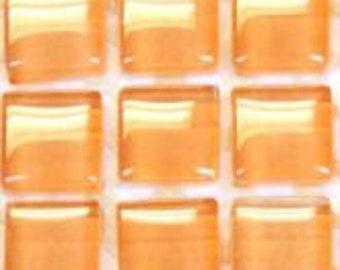 10mm Murrini Crystal Mosaic Tiles - Corn Peach - 81 Tiles