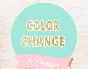 Change color to any listing  - KDesign
