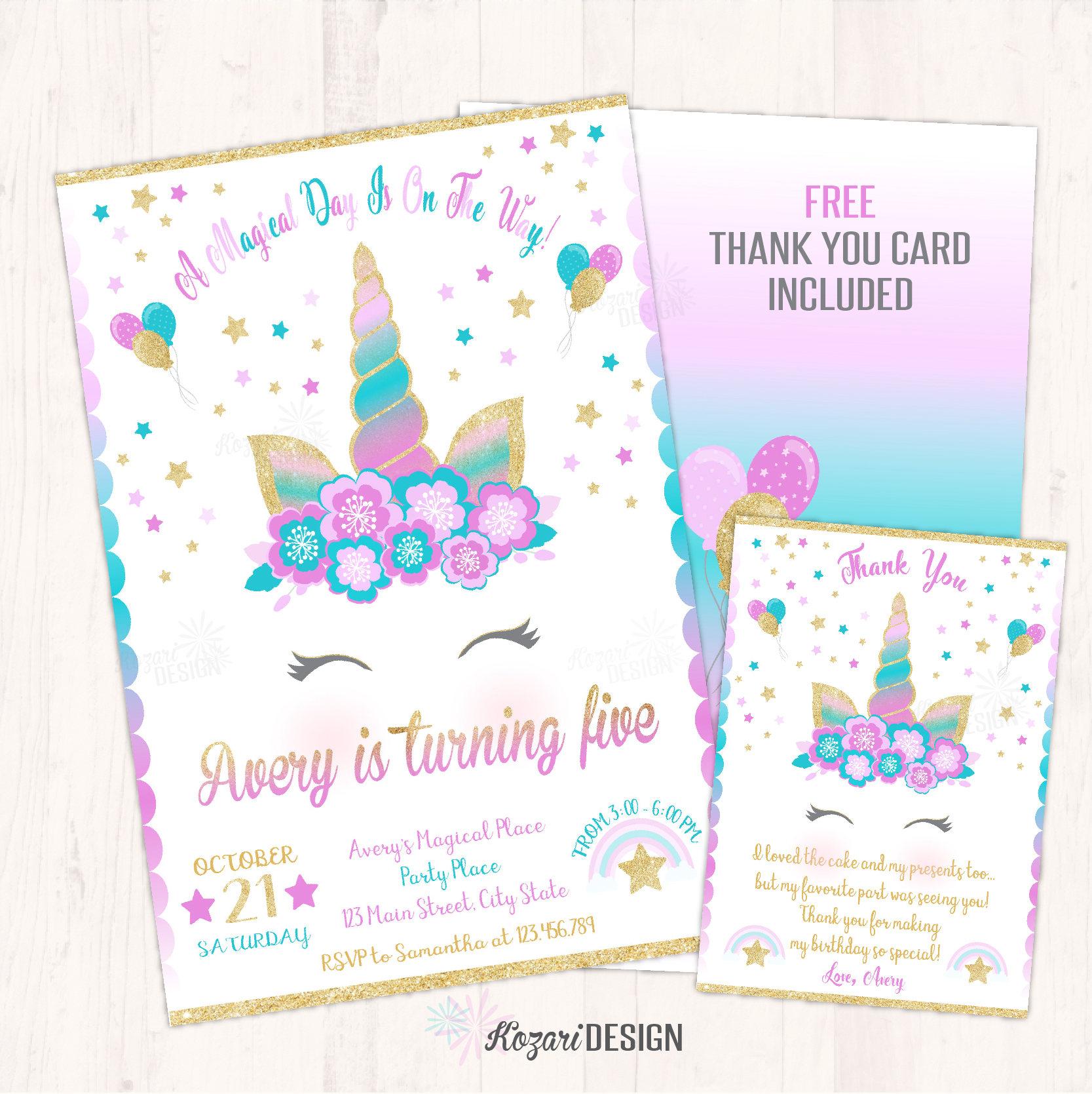 avery printable birthday invitations www