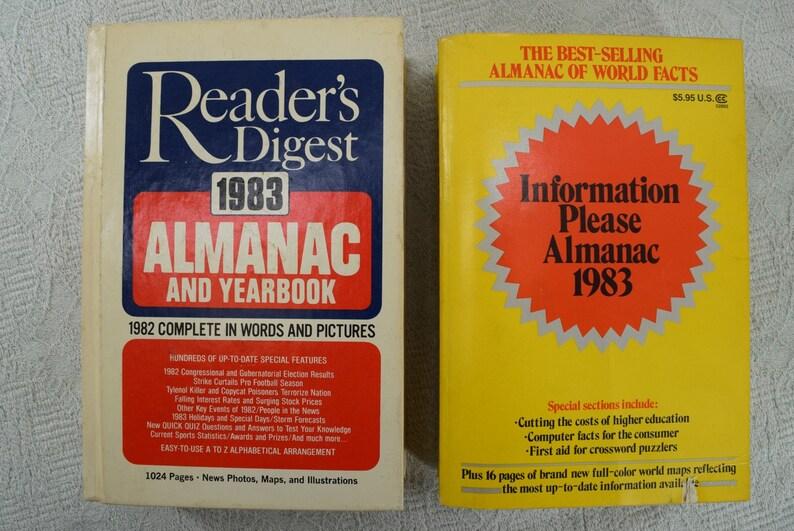 World Almanac from 1970s 1980s 1990s choice (S2 bot S)