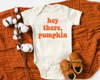 Personalised Our Little Pumpkin T-shirt for Kids /& Baby Vest for Babies|Halloween Autumn Shirts for Kids|Birthday gift for girls,boys,babies