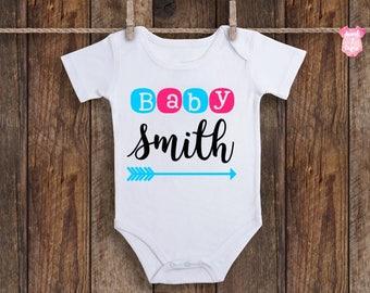 Baby Announcement Onesie, Pregnancy Announcement Onesie, Baby Announcement, Pregnancy Announcement, Gender Reveal, Baby Girl Onesie