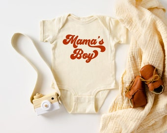 Baby Shower Gift Boy Baby shower gift Mama/'s Boy Onesie\u00ae Baby boy Clothes Funny Baby Clothes Baby Boy Gift Baby Boy Clothes