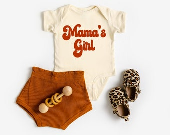 Strong like mom onesie retro onesie vintage pinup graphic onesie retro baby shower gift