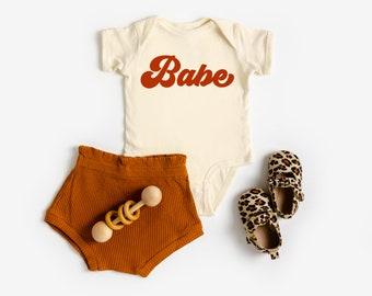 Baby Girl and Boy Shower Gifts Wild Mushroom Baby On e Piece 70/'s Hippie Retro Screen Print Infant Bodysuit Modern Unisex Baby Clothing