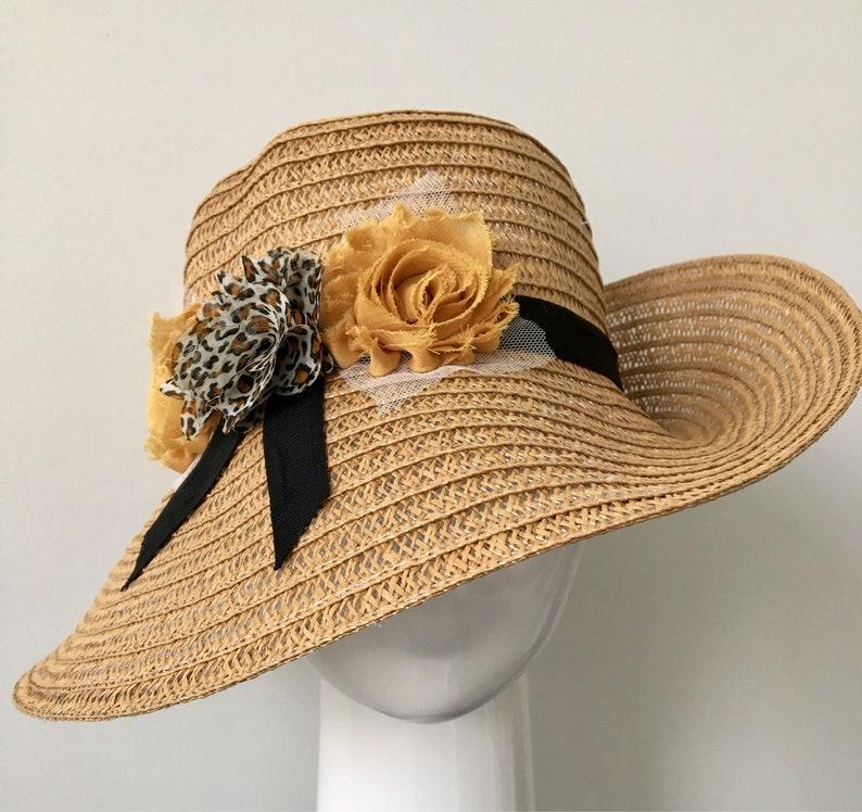 6ddedde2f0b Women Straw Hats Wide Brim Straw Hat Boho Straw Hat Foldable