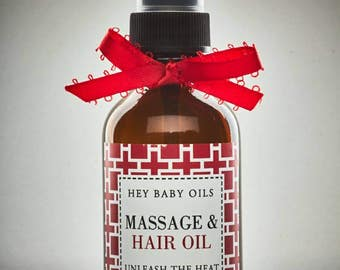 Hey Baby Massage Oil (Unleash The Heat) (Spa Time)