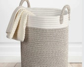 Cotton Rope Basket, Clothing Storage Basket, Toy Storage, Storage Basket, Large Laundry Bucket, Laundry Basket, Rope Basket, Nordic Basket