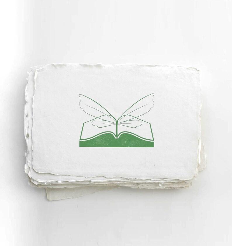 The Book Fairies Logo Eco Stamp image 0