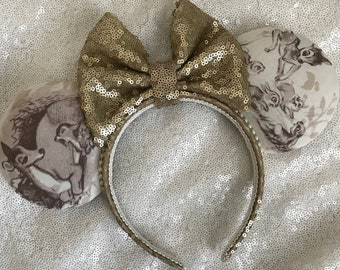 Bambi Vintage Inspired Minnie / Mickey Mouse Ears
