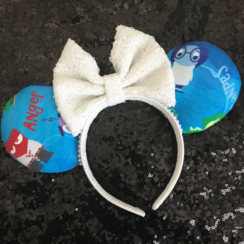 Inside Out Minnie Mouse Ears Disney Inspired