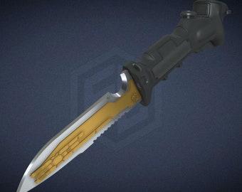 Titanfall Pilot Dataknife Files for 3D Printing