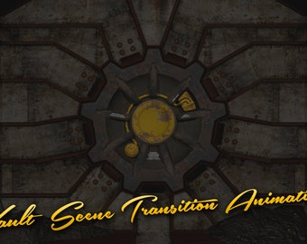 Fallout-inspired Vault Scene Transitions - Assets for Twitch or Youtube