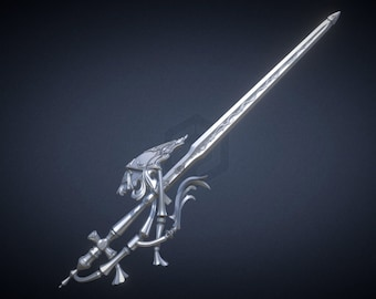 FFXIV Red Mage - Antiquated Murgleis Sword 3D Print Files